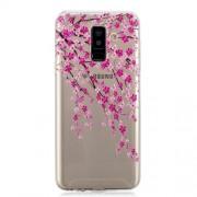 Θήκη Σιλικόνης TPU για Samsung Galaxy A6 Plus (2018) / A9 Star Lite - Ανθισμένα Κλαδιά