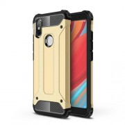 Tough Armor Υβριδική Θήκη Σιλικόνης TPU σε Συνδυαμό με Πλαστικό για Xiaomi Redmi S2 / Y2 - Χρυσαφί