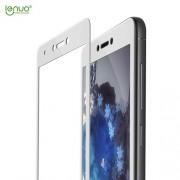 LENUO Σκληρυμένο Γυαλί (Tempered Glass) Προστασίας Οθόνης Πλήρης Κάλυψης για Xiaomi Redmi Note 4X / Note 4 (Snapdragon) - Λευκό
