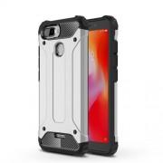 Tough Armor Υβριδική Θήκη Σιλικόνης TPU σε Συνδυαμό με Πλαστικό για Xiaomi Redmi 6 (Dual Camera: 12MP+5MP) - Ασημί