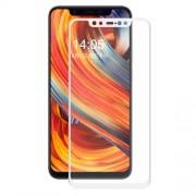 HAT PRINCE Σκληρυμένο Γυαλί (Tempered Glass) Προστασίας Οθόνης Πλήρης Κάλυψης για Xiaomi Mi 8 - Λευκό