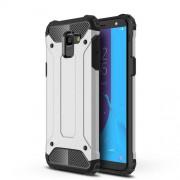 Armor Guard Plastic + TPU Hybrid Shell Case for Samsung Galaxy J6 (2018) - Silver