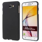 Θήκη Σιλικόνης TPU Ματ για Samsung Galaxy J7 Prime (2018) - Μαύρο