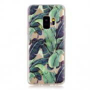 Pattern Printing Soft TPU Back Cell Phone Case for Samsung Galaxy S9 SM-G960 - Banana Tree