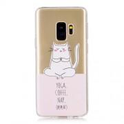 Θήκη Σιλικόνης TPU για Samsung Galaxy S9 G960 - Γατούλα που Κάνει Γιόγκα