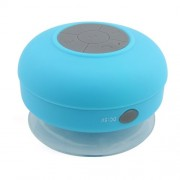 Mini Suction Cup Wireless Bluetooth Speaker IPX4 Waterproof Shower Speaker for iPhone 7/7 Plus etc. - Blue