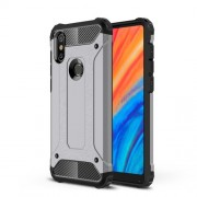 Armor Guard Plastic + TPU Hybrid Cover Shell Case for Xiaomi Mi Mix 2s - Grey