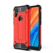 Tough Armor Υβριδική Θήκη Σιλικόνης TPU σε Συνδυαμό με Πλαστικό για Xiaomi Mi Mix 2s - Κόκκινο