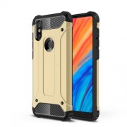 Armor Guard Plastic + TPU Hybrid Cover Phone Case for Xiaomi Mi Mix 2s - Gold
