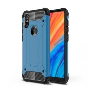 Armor Guard Plastic + TPU Hybrid Protective Case for Xiaomi Mi Mix 2s - Baby Blue