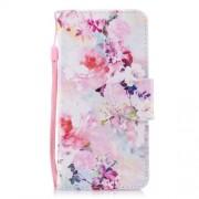 Δερμάτινη Θήκη Πορτοφόλι με Βάση Στήριξης για Xiaomi Redmi 5 - Πολύχρωμα Λουλούδια