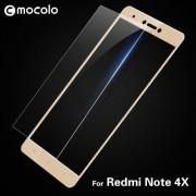 MOCOLO Σκληρυμένο Γυαλί (Tempered Glass) Προστασίας Οθόνης Πλήρης Κάλυψης για Xiaomi Redmi Note 4X - Χρυσαφί