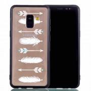 Θήκη Σιλικόνης TPU με Σκληρή Πλάτη για Samsung Galaxy A8 (2018) - Βέλη