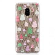 Θήκη Σιλικόνης TPU για Samsung Galaxy A8 (2018) - Παγωτά
