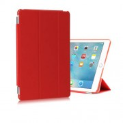 Tri-fold Stand Leather Smart Cover + PC Companion Case for iPad Pro 9.7 inch - Red