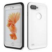 IP68 Αδιάβροχη Θήκη για Καταδύσεις μέχρι 2 Μέτρα (Λειτουργεί το Fingerprint Identification) για iPhone 8 Plus / 7 Plus - Λευκό