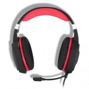 KOTION EACH G1000 Ενσύρματα Επαγγελματικά Ακουστικά με Μικρόφωνο και Φως Led για Gaming - Κόκκινο/Μαύρο