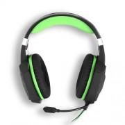 KOTION EACH G1000 Ενσύρματα Επαγγελματικά Ακουστικά με Μικρόφωνο και Φως Led για Gaming - Πράσινο/Μαύρο