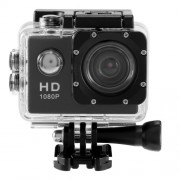2.0 inch HD 1080P 12MP Sports Car DV Video Action Camera - Μαύρο