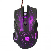 K1013 6-Key USB Wired Gaming Mouse 3200DPI with Colorful LED Light (CE/RoHS/FCC)