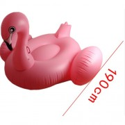 Inflatable Flamingo Pool Lounger Swimming Float Swim Raft, Size: 190 x 190 x 130cm