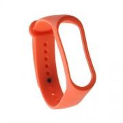 Μπρασελέ Σιλικόνης για το Xiaomi Mi Band 3 - Πορτοκαλί