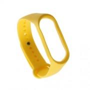 Μπρασελέ Σιλικόνης για το Xiaomi Mi Band 3 - Κίτρινο