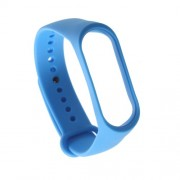 Flexible TPU Wristband Strap Replacement for Xiaomi Mi Band 3 - Dark Blue