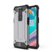 Armor Guard Plastic + TPU Combo Case for OnePlus 6 - Grey