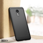 IPAKY Anti-shocking TPU Protection Mobile Phone Case for Meizu M6 - Black
