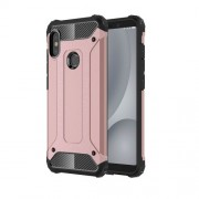Armor Guard Plastic + TPU Hybrid Shell Cover Case for Xiaomi Redmi Note 5 Pro (Dual Camera) / Redmi Note 5 (China) - Rose Gold