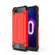 Armor Guard Plastic + TPU Combo Case for Huawei Honor 10 - Red