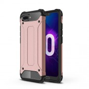 Armor Guard Plastic + TPU Hybrid Cover Shell for Huawei Honor 10 - Rose Gold