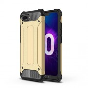 Armor Guard Plastic + TPU Combo Phone Case for Huawei Honor 10 - Gold