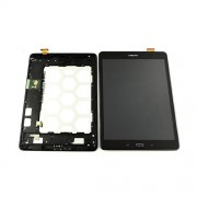 Original LCD Screen and Digitizer Touch Screen for Samsung Galaxy Tab A 9.7 LTE SM-T555 - Black (GH97-17424D)