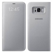 Samsung Book Led View Cover for Samsung Galaxy S8 Plus - Silver (EF-NG955PSEGWW)