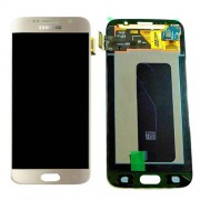 Original Samsung LCD + Digitizer Touch Screen for Samsung Galaxy S6 SM-G920F - Gold (GH97-17260C)