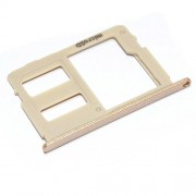 Original SD Card Tray for Samsung Galaxy J5 (2017) SM-J530F - Gold (GH64-06366C)