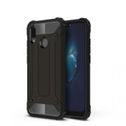 Armor Guard Plastic + TPU Hybrid Case for Huawei P20 Lite / Nova 3e (China) - Black
