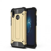 Armor Guard Plastic + TPU Combo Cover Case for Huawei P20 Lite / Nova 3e (China) - Gold