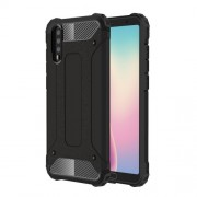Armor Guard Plastic + TPU Hybrid Case for Huawei P20 - Black
