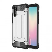 Armor Guard Plastic + TPU Hybrid Cell Phone Case for Huawei P20 - Silver