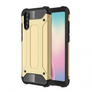 Armor Guard Plastic + TPU Hybrid Protective Case for Huawei P20 - Gold