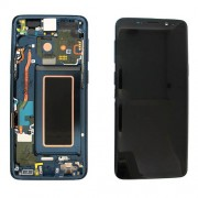 Original Samsung LCD and Digitizer Touch Screen for Samsung Galaxy S9 Plus / S9+ G965 - Blue (GH97-21691D)