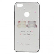 Embossed Patterned TPU Case Mobile Accessory for Xiaomi Redmi Note 5A Prime - Cute Cats