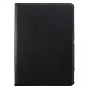 Περιστρεφόμενη Δερμάτινη Θήκη Βιβλίο με Βάση Στήριξης για Huawei MediaPad M2 10.0 - Μαύρο