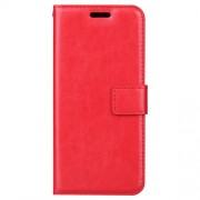 BTRCASE Δερμάτινη Θήκη Πορτοφόλι με Βάση Στήριξης για Samsung Galaxy A8 (2018) - Κόκκινο
