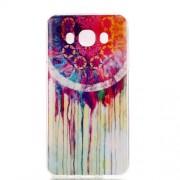 Θήκη Σιλικόνης TPU για Samsung Galaxy J7 (2016) - Ονειροπαγίδα με Χρώματα