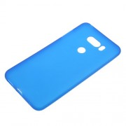 Matte Anti-scratch TPU Cell Phone Cover for LG V30 - Blue