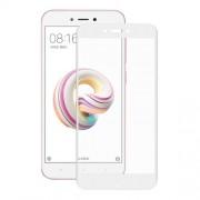 HAT PRINCE Σκληρυμένο Γυαλί (Tempered Glass) Προστασίας Οθόνης Πλήρης Κάλυψης για Xiaomi Redmi 5A - Λευκό